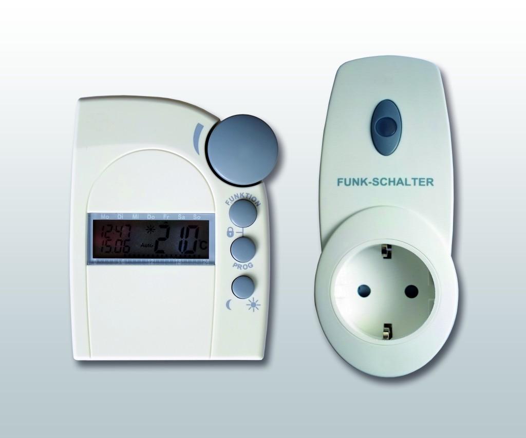 Funk Thermostat Set FS20-Set Infrarotheizungen-1024x853