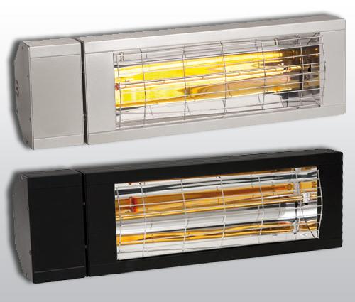 Infrarotstrahler-Smart IP24 2000Watt Weiss Schwarz