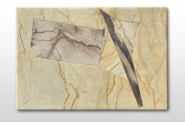 Sandstein Intarsienarbeit 02