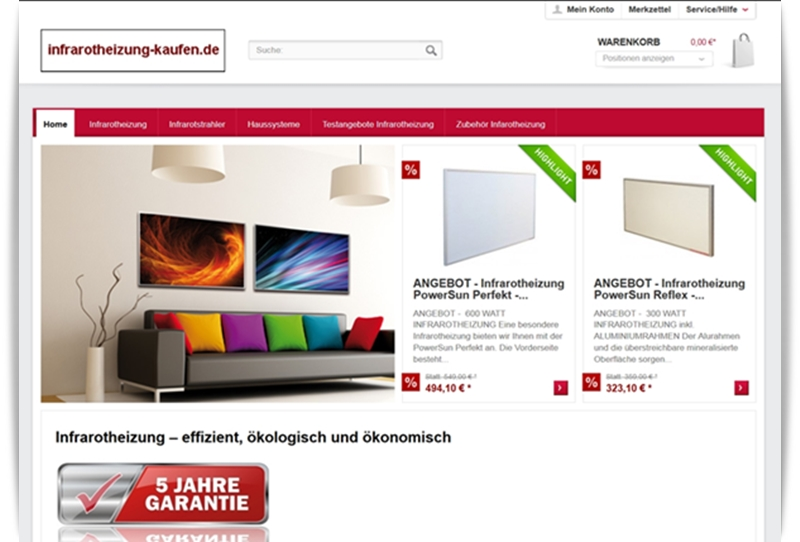Screenshot Infrarotheizung-kaufen Pic