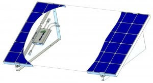 Mini Kraftwerk Solaranlage