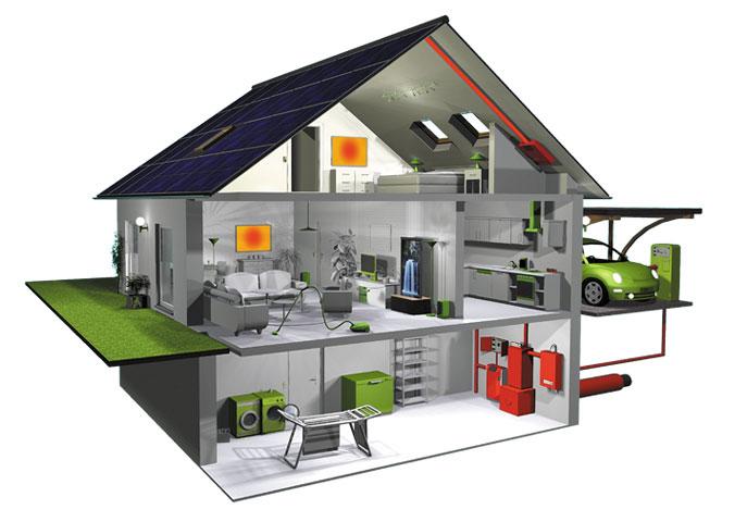 PVIR Haus Infrarotheizung Photovoltaik