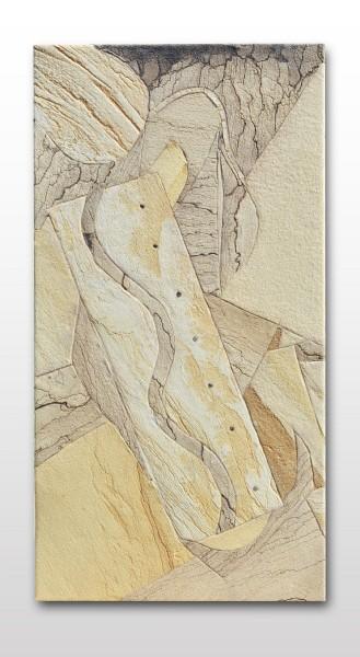 Sandstein Intarsienarbeit 05